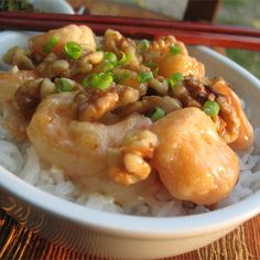 You can make simple seafood recipes during the busy workweek. You'll have these top-rated shrimp recipes on the table in 30 minutes or less. Best Shrimp Recipes, Shellfish Recipes, Copycat Recipes, Seafood Recipes, Cooking Recipes, Easy Chinese Recipes, Asian Recipes, Chinese Bbq Pork, Chinese Food