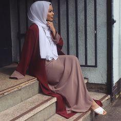 @alshamsapparel did it again with this two-piece abaya, I absolutely love this! ❤️ #habibadasilva #RamadanReady