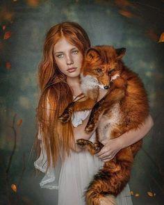 The Finest Sexy Life - Mystisch schön Fantasy Photography, Beauty Photography, Animal Photography, Portrait Photography, Foto Fantasy, Fantasy Art, Beautiful Creatures, Animals Beautiful, Fuchs Illustration
