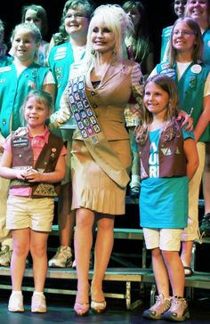 girl scouts | Dolly Parton Launches Girl Scouts Patch Program