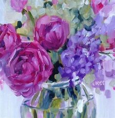 """Daily+Paintworks+-+""""Very+Best+Day""""+-+Original+Fine+Art+for+Sale+-+©+Libby+Anderson"""