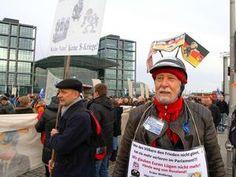 #Verschwörungstheoretiker, #Linke und #Neonazis gegen #Gauck.