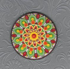 Mandala_1 - Quilled Creations Quilling Gallery
