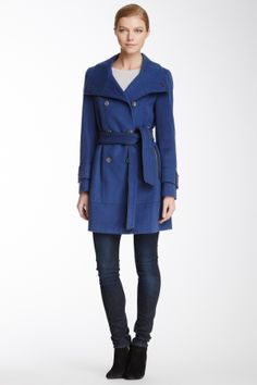 Solid Lux Wool Coat