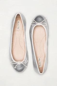 Massimo Dutti ballet pumps