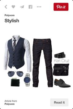 Men's clothing ideas.