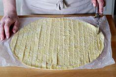 Recette - Torsades apéro au parmesan en pas à pas