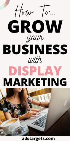 Growing your business with display ads simply translates to high levels of visibility. In this post, we share the best tactics to grow your business using display advertising. #growyourbusiness #growyourbusinessonline #howtogrowyourbusiness #growyourbusinesswithdigitalmarketing Display Advertising, Display Ads, Online Advertising, Advertising Campaign, Online Marketing, Digital Marketing, Youtube Advertising, Target Audience, Growing Your Business