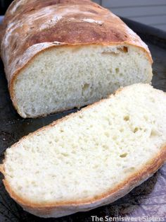 Foolproof Rustic White Bread