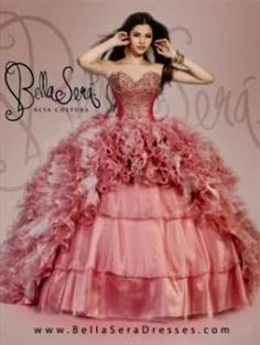 Awesome pink and white quinceanera dresses 2017-2018