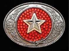 Cool Belt Buckles, Rodeo Belt Buckles, Le Far West, Western Belts, Cowboy And Cowgirl, Red Glitter, Cowgirls, Antique Silver, Westerns