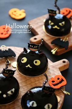 黒猫のWチョコムース