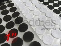 sticky felt circles // adhesive-backed felt circles for making headbands and ponytail holders // lot of 50 Wholesale Headbands, How To Make Headbands, Thing 1, Knitted Headband, Ponytail Holders, Adhesive, Hot Pink, Dots, Circles