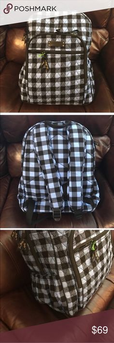 """NWT Vera Bradley alpine check campus backpack NWT Vera Bradley alpine check campus backpack. Dimensions 12"""" w x 16"""" h x 6 ½"""" d with 2 ¾"""" handle drop; 29 ¾"""" adjustable straps Vera Bradley Bags Backpacks"""