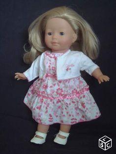 Poupée Vanille Blonde robe cortège de Corolle
