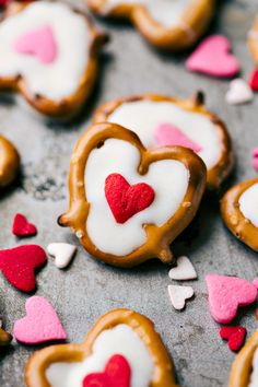 4 simple to make and cute Valentine's Day Treats! Each recipe requires 3 ingredients or less to make! Video tutorial included.