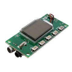 New Arrival DSP PLL 87-108MHz Digital Wireless Microphone Stereo FM Transmitter Module Board 26.5x49mm Board
