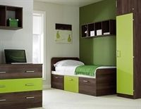 Walnut and Green Walnut Bedroom, Bunk Beds, Furniture Design, Green, Home Decor, Double Bunk Beds, Interior Design, Home Interior Design, Bunk Bed