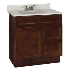 Briarwood Centerpoint Vanity Sink 30w X 21d X 34 5h Base