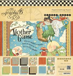 Graphic 45 - Mother Goose Collection - 12 x 12 Paper Pad at Scrapbook.com