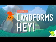 Landforms, Hey!: Crash Course Kids #17.1 - YouTube