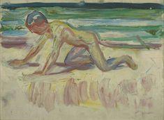 """Munch, """"Childhood"""", 1908"""