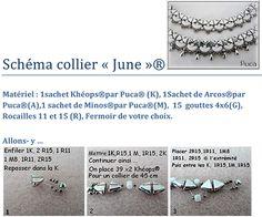 Tutoriel collier June par Puca® (Gratuit)