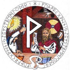 La voce dell'anima Meditazione runica evolutiva Giovedì 15 Dicembre – Seiðkarl Hvìtur