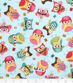 Owls :) #cotton prints