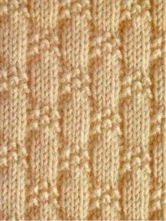 Baby Knitting Pattern This Pin was discovered by Ver Knitting Stiches, Easy Knitting, Baby Knitting Patterns, Knitting Designs, Stitch Patterns, Crochet Patterns, Creative Knitting, Easy Patterns, Simple Pattern