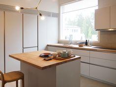 Keittiö kohteessa Talo Koskela, Asuntomessut 2016 Seinäjoki