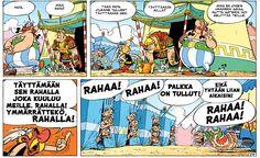 Asterix ja rahapata. #egmont #sarjakuva #sarjis