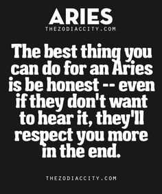 Best Thing You Can Do For Aries | TheZodiacCity