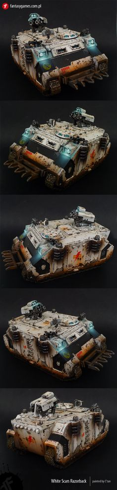 Space Marines (White Scars Chapter) Razorback Manufacturer: Games Workshop