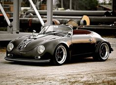 Porsche Outlaw! Check out Facebook and Instagram: @metalroadstudio Very cool!