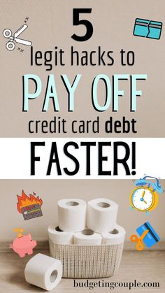 This is the ONLY way you should be paying off credit card debt if you want to pay it off FAST. Use our ultimate guide to credit card debt payoff to start saving money on interest and becoming debt free as quickly as possible (even as a frugal living beginner). Click the pin to get the money life hacks to pay off debt quickly! Budgeting Couple | Budgeting Couple Blog | BudgetingCouple.com Budgeting Finances, Budgeting Tips, Best Money Saving Tips, Saving Money, Cash Envelope System, Paying Off Credit Cards, Managing Your Money, Debt Payoff, Money Management