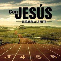 Filipenses 4:13 Todo lo puedo en Cristo que me fortalece.Hebreos 12:2 Puestos los ojos en Jesús, el autor y consumador de la fe, el cual por el gozo puesto delante de él sufrió la cruz, menospreciando el oprobio, y se sentó a la diestra del trono de Dios.♔