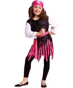 Caribbean Girl Pirate Costume | KIDS