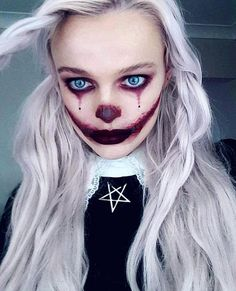 - Famous Last Words Scary Clown Makeup, Joker Makeup, Halloween Makeup Looks, Zombie Makeup, Hallowen Costume, Diy Halloween Costumes For Women, Nail Art Designs, Makeup Designs, Nail Design