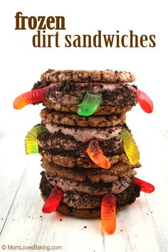 Frozen Dirt Sandwiches