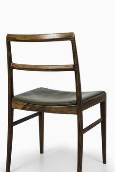 Arne Vodder dining chairs model 430 at Studio Schalling