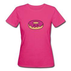 Zucker süße Verführung. Der Kawaii donut ist ein lustiges Motiv für alle Kids