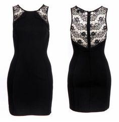Küçük siyah elbiseye, zarafet simgesi dantel değerse...