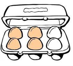 eierkaarten opdrachtkaarten leg de eieren op dezelfde plaats