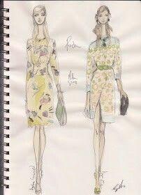Pippa McManus Sketch Show : Prada, S/S12, Milan