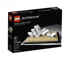 How neat! The LEGO® Architecture series will now include Jørn Utzon's Sydney Opera House, it is the 12th building in this popular series.