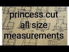Princess cut Blouse Measurement/Drafting/Pattern/Layout/Cutting/Stitching part 2 of 10 hindi - YouTu Designer Blouse Patterns, Dress Sewing Patterns, Pattern Sewing, Saree Tassels Designs, Saree Blouse Designs, Dress Designs, Princess Cut Blouse Design, Prince Cuts, Blouse Tutorial