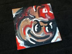 Ohio State Painting by Justin Patten Sports Art. $40.00, via Etsy.