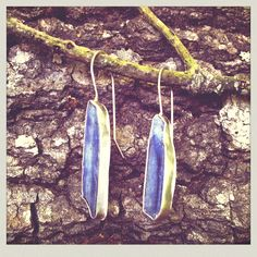 M* Jewelry / earrings / kyanite