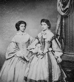 Princess Maria and her sister Mathilde.